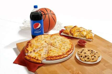 Basketball-Themed Pizza Bundles