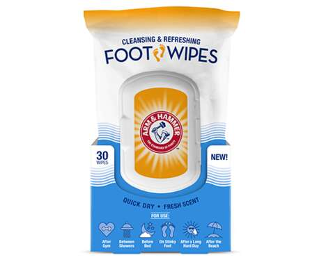 Refreshing Foot Care Wipes