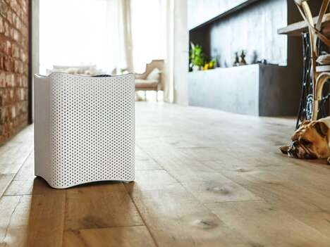 Anti-Auditory Disturbance Air Purifiers