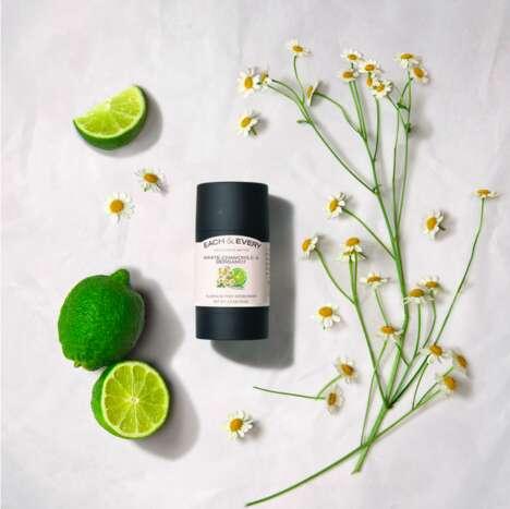 Chamomile-Infused Natural Deodorants