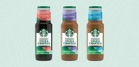Convenient Bottled Coffee Drinks