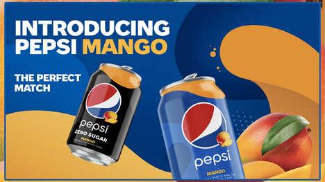 Juicy Mango-Flavored Colas