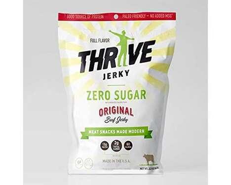 Stevia-Sweetened Jerky Products