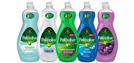 Recycled Dish Soap Bottles