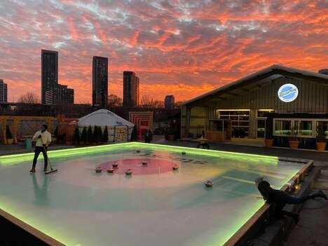 Outdoor Hybrid-Curling Activities