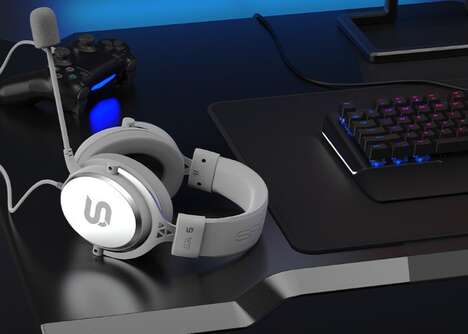 Mineral-Inspired Gamer Headsets