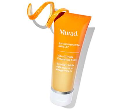 Microdermabrasion-Like Facial Cosmetics