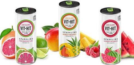Vitamin-Infused Sparkling Refreshments