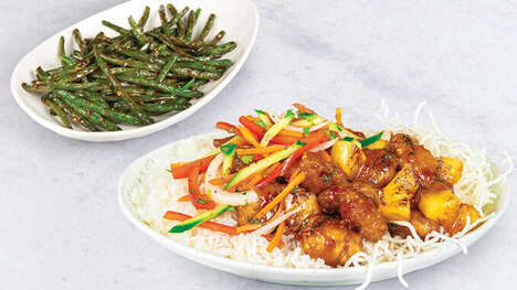 Tangy Chicken Entrees