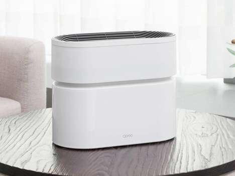 Airflow-Maximizing Air Purifiers