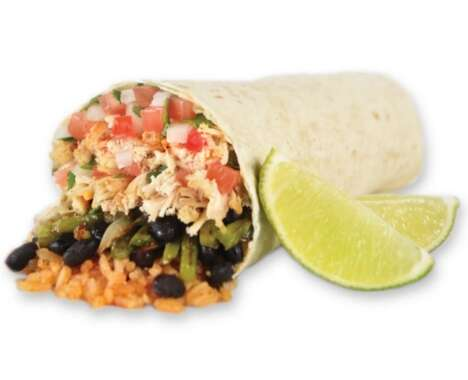 Hybrid Fajita Burritos