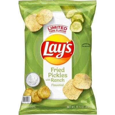 Fried Pickle-Flavored Chips