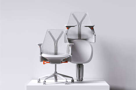 Flexible Hybrid Office Chairs