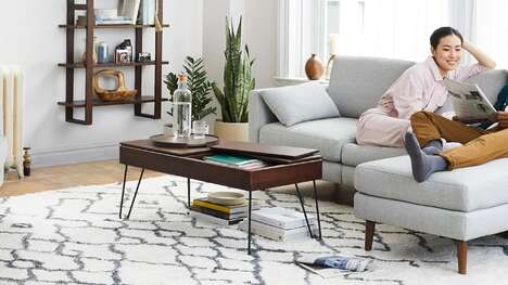 Bento Box-Inspired Coffee Tables