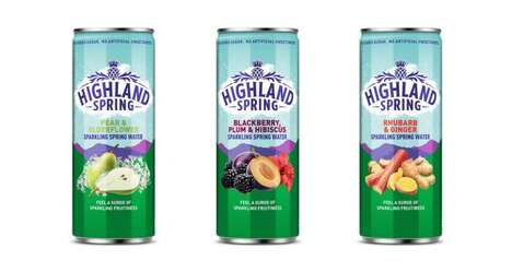 Extra Flavorful Sparkling Waters