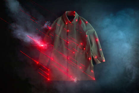 Laser-Cut Trench Coats