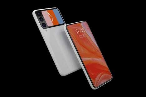 Rear Supplemental Display Smartphones