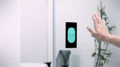 Touch-Free Gesture-Controlled Doors