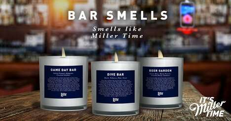 Bar-Scented Candles