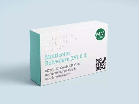 Recycled Component Medication Packaging