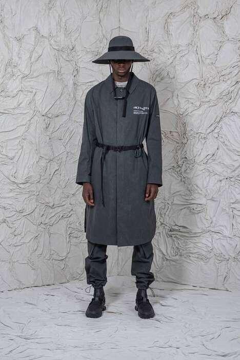 Textile-Centric Lavish Menswear