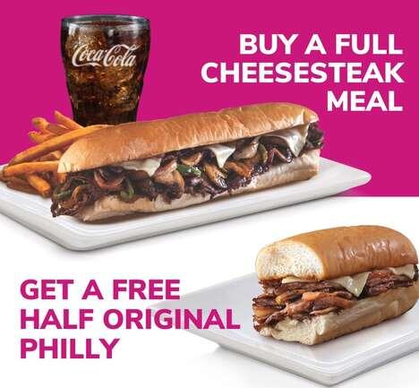 National Cheesesteak Day Deals