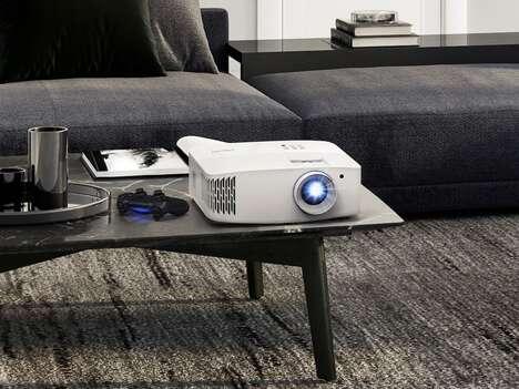Brightness-Optimizing Projectors