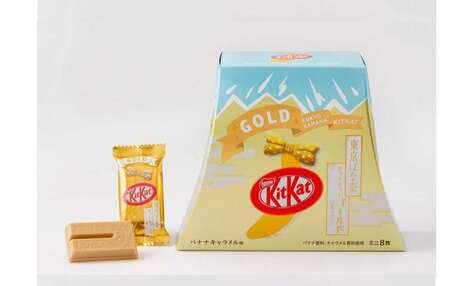 Olympic Gold-Inspired Snacks