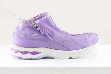 Sleek Laceless Futuristic Footwear