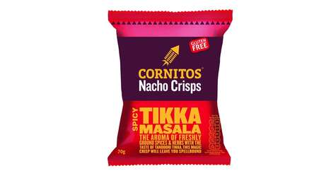 Indian Cuisine Snack Chips