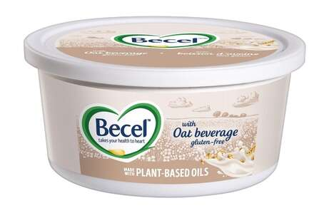 Oat Milk-Infused Plant-Based Spreads
