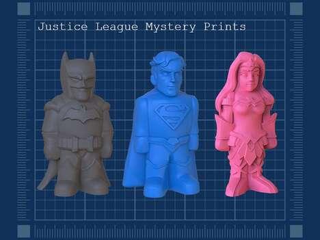 3D-Printed Superhero Toys