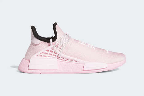 All-Pink Springtime Sneakers