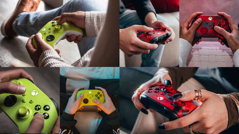 Recycled Gaming Controllers