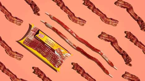Bacon-Scented Shoe Laces