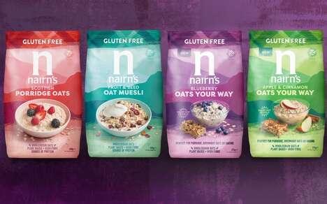 Fruit-Infused Oat Cereals