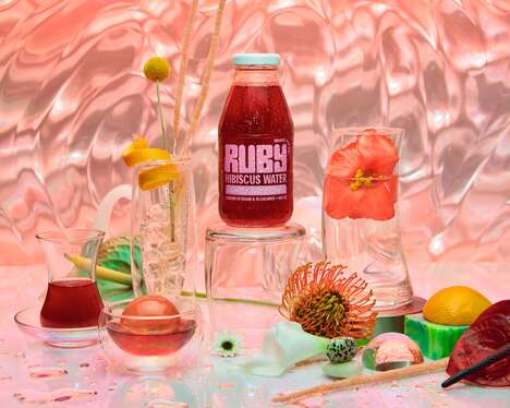 Beverages From Fusing Luxury Goods and Art