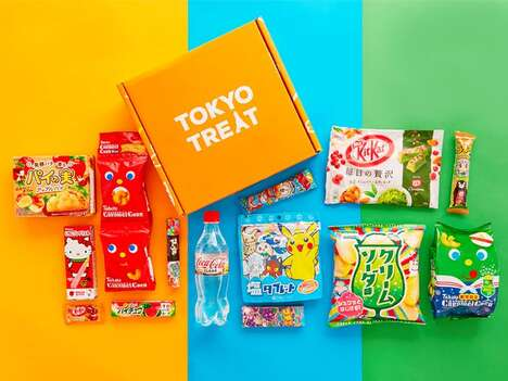 Japan-Specific Snack Boxes