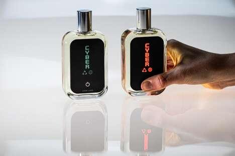 NFT Perfume Blockchain Artwork