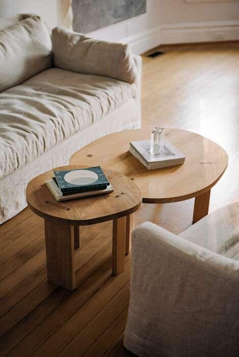 Familiar Wooden Minimal Furniture