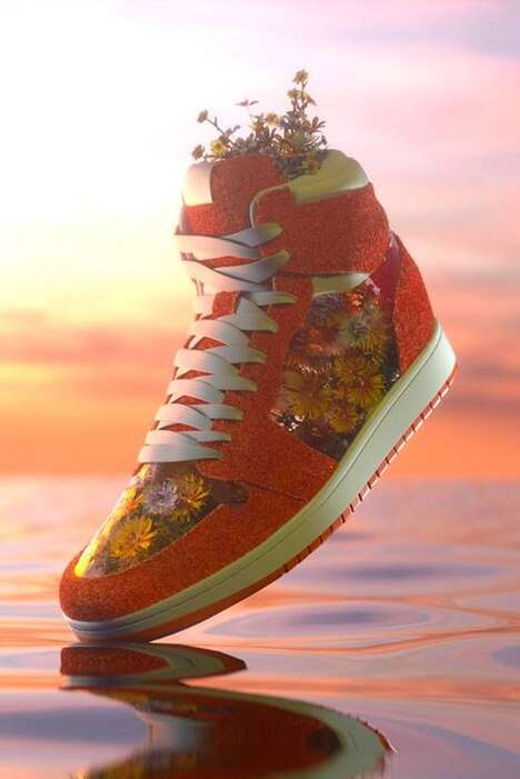 Collectible Digital Sneaker Artworks