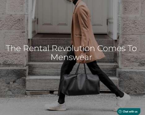Ready-to-Wear Menswear Rentals