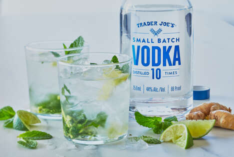 Smooth Small Batch Vodkas