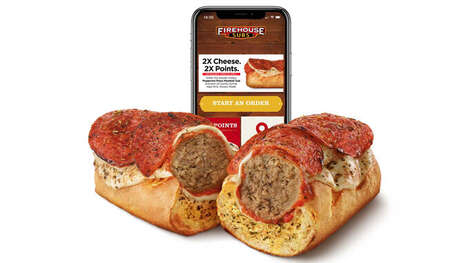 Pizza-Inspired Meatball Subs