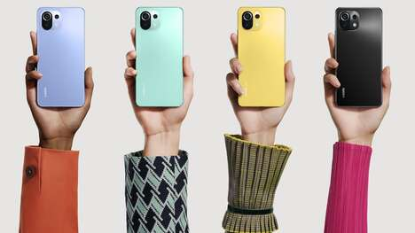 Sporty Chromatic Smartphones