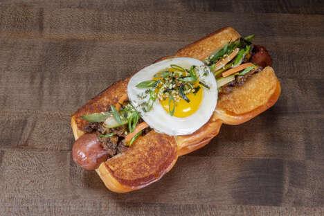 Korean BBQ-Inspired Hot Dogs