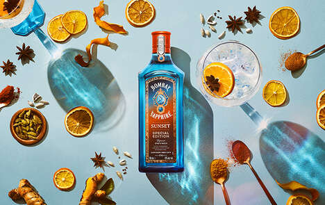Sunset-Inspired Gin Spirits