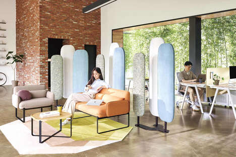 Multifunctional Fabric Room Dividers