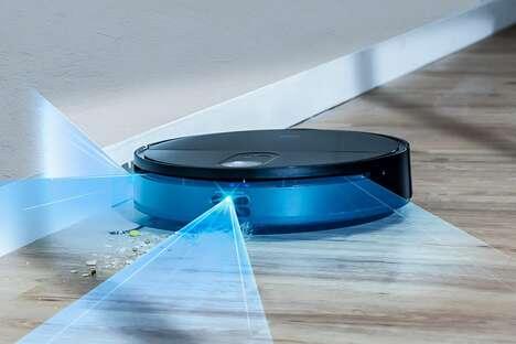 Triple-Eye LiDAR Robot Vacuums