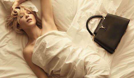 Elegant Leather Goods Campaigns